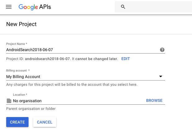 Tutorial : Google Custom Search in Android app – vancura cz