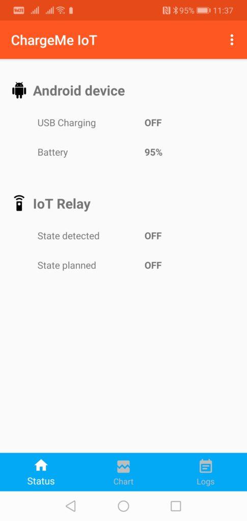 Android App : ChargeMe IoT ESP8266 – vancura cz